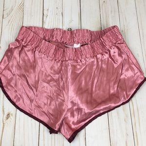 Victoria's Secret Small Silky Pink Shorts